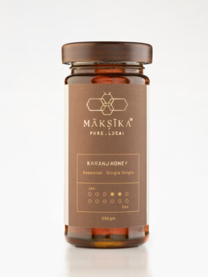 Karanj Honey- Pure Flavoured Honey by Maksika