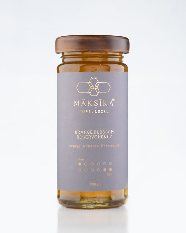 Orange Blossom Reserve Honey - Pure and Local Flavoured Honey from Meghalaya