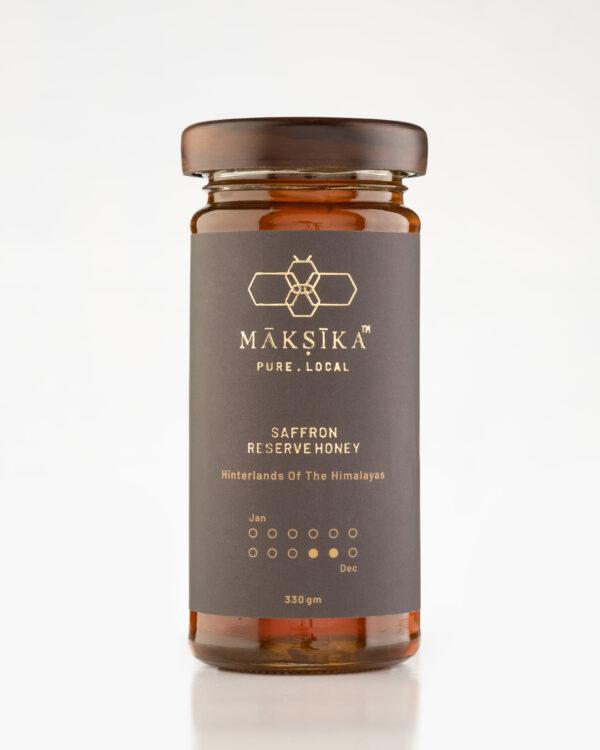 Maksika Saffron Flavour Reserve Honey